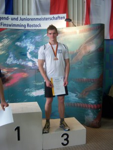 Siegerehrung - 3ter Platz Georg Fischer
